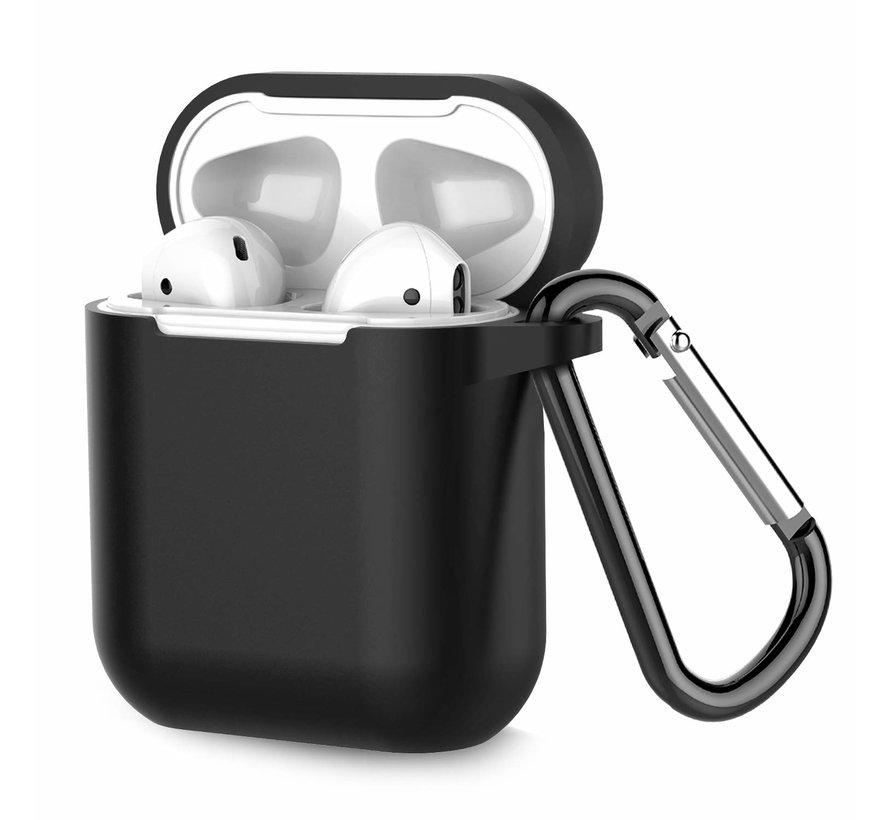 Apple Airpods silicone case (zwart)