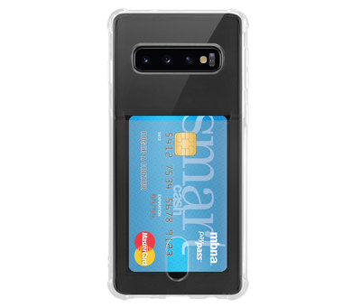 ShieldCase ShieldCase Samsung Galaxy S10 Shock case met pashouder