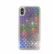 ShieldCase® Waterfall roze glitter case iPhone Xr