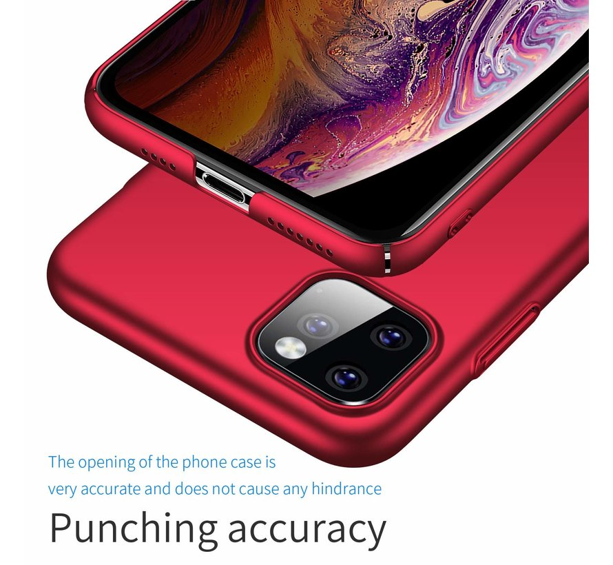 ShieldCase Ultra thin case iPhone 11 Pro (rood)