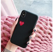ShieldCase® Heart Eyes iPhone Xr hoesje (zwart)