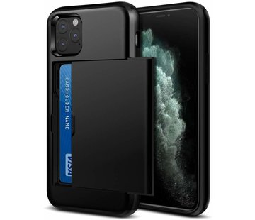 ShieldCase Kaarthouder case met slide iPhone 11 Pro Max (zwart)