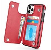 ShieldCase Wallet Case iPhone 11 Pro (rood)
