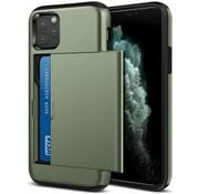 ShieldCase Kaarthouder case met slide iPhone 11 Pro Max (groen)