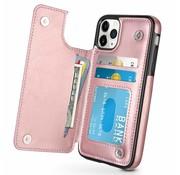 ShieldCase Wallet Case iPhone 11 Pro (roze)