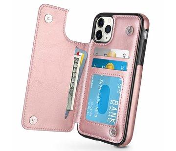ShieldCase® iPhone 11 Pro wallet case (roze)