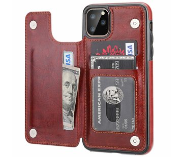 ShieldCase Wallet Case iPhone 11 Pro (bruin)