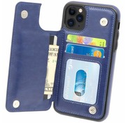 ShieldCase Wallet Case iPhone 11 Pro (blauw)