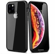 ShieldCase® iPhone 11 Pro Max metallic bumper case (zwart)