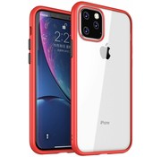 ShieldCase® iPhone 11 Pro Max metallic bumper case (rood)