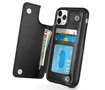 ShieldCase® Wallet Case iPhone 11 Pro Max (zwart)
