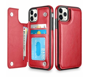 ShieldCase® Wallet Case iPhone 11 Pro Max (rood)