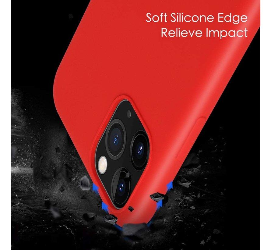 ShieldCase Silicone case iPhone 11 Pro (rood)