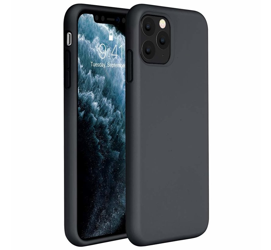 ShieldCase Silicone case iPhone 11 Pro (zwart)