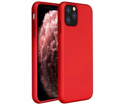 ShieldCase ShieldCase Silicone case iPhone 11 Pro Max (rood)