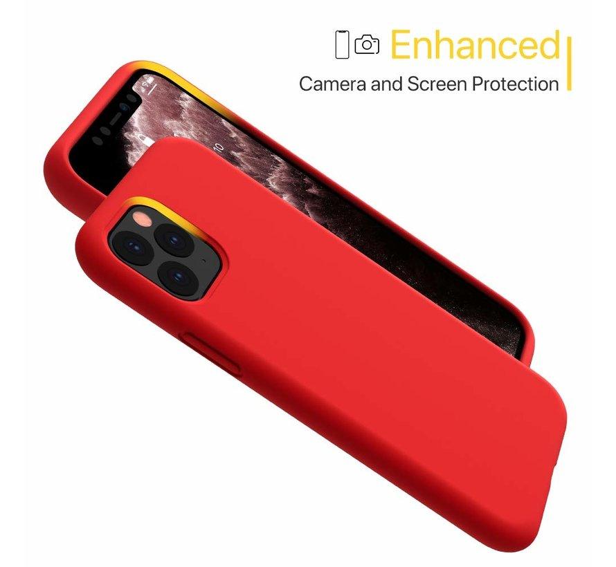 ShieldCase Silicone case iPhone 11 Pro Max (rood)