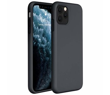 ShieldCase® Silicone case iPhone 11 Pro Max (zwart)