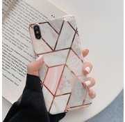ShieldCase® iPhone X / Xs hoesje marmeren patroon
