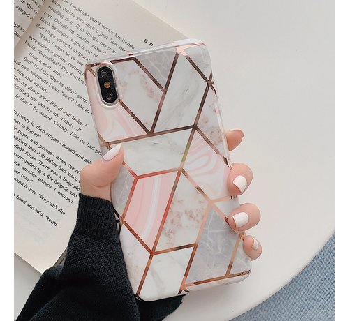 ShieldCase ShieldCase Marmeren patroon iPhone X / Xs hoesje