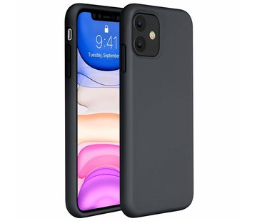 ShieldCase® Silicone case iPhone 11 (zwart)