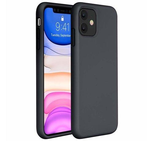 ShieldCase ShieldCase Silicone case iPhone 11 (zwart)
