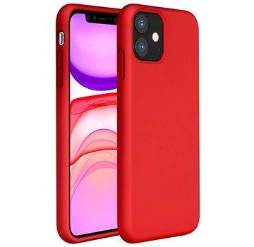 ShieldCase® Silicone case iPhone 11 (rood)