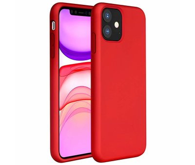 ShieldCase® ShieldCase Silicone case iPhone 11 (rood)
