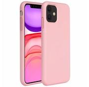 ShieldCase® Silicone case iPhone 11 (roze)