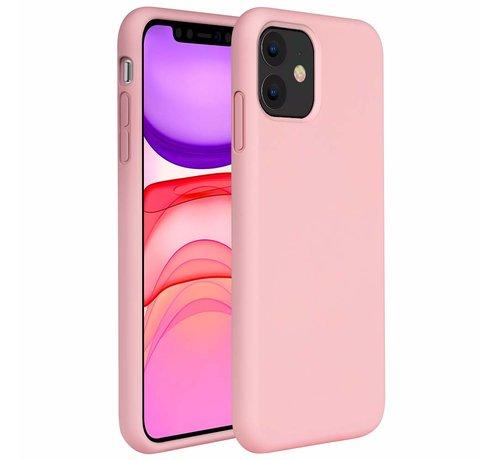 ShieldCase® ShieldCase Silicone case iPhone 11 (roze)