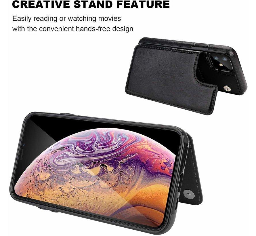 ShieldCase iPhone 11 wallet case (zwart)
