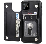 ShieldCase® iPhone 11 wallet case (zwart)