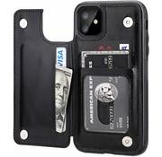 ShieldCase Wallet Case iPhone 11 (zwart)