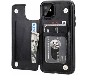 ShieldCase Wallet Case iPhone 11 (zwart)