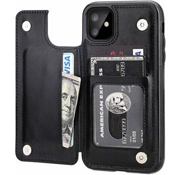 ShieldCase® iPhone 11 wallet case (zwart)