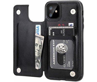 ShieldCase® ShieldCase iPhone 11 wallet case (zwart)