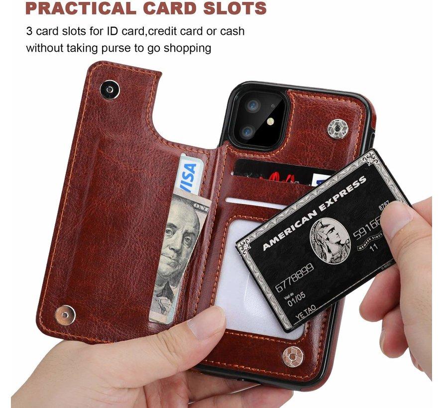 ShieldCase iPhone 11 wallet case (bruin)
