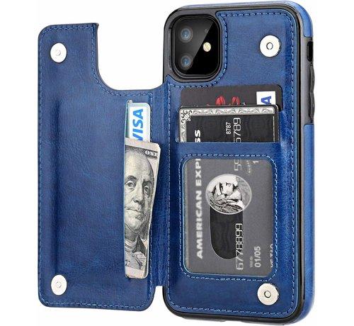 ShieldCase ShieldCase Wallet Case  iPhone 11 (blauw)