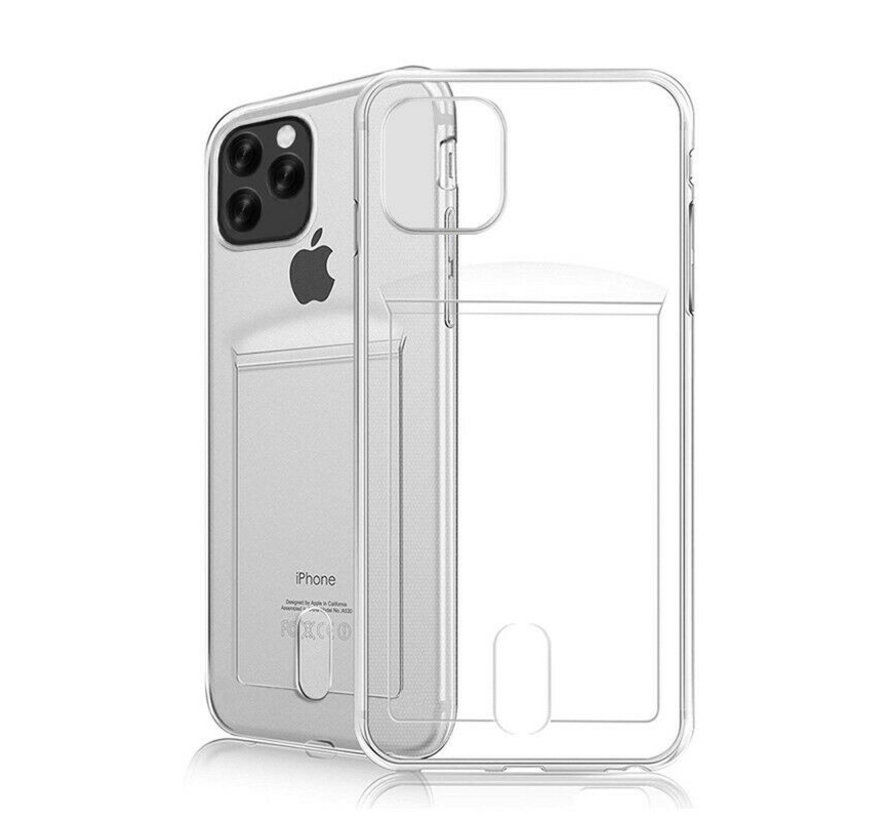 ShieldCase iPhone 11 Pro Max Shock case met pashouder