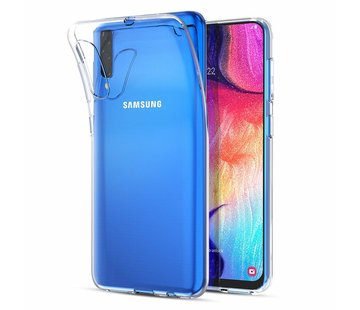 ShieldCase Ultra thin silicone case Samsung Galaxy A50 (transparant)