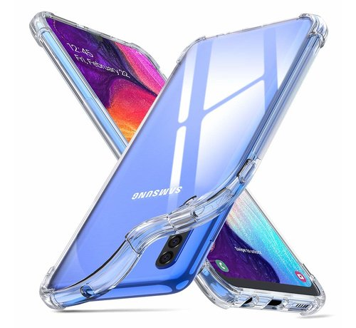 ShieldCase ShieldCase Shock case Samsung  Galaxy A50 (transparant)