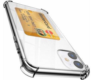 iPhone 11 Shock case met pashouder