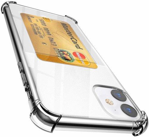 ShieldCase® ShieldCase iPhone 11 Shock case met pashouder