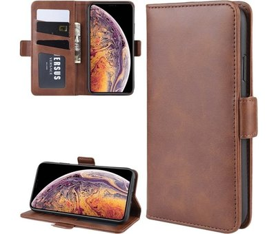 ShieldCase® ShieldCase Leren Bookcase iPhone 11 Pro Max  (bruin)