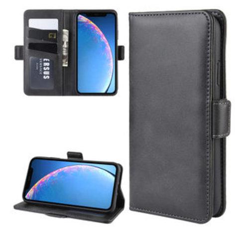 ShieldCase ShieldCase Leren Bookcase iPhone 11 (zwart)