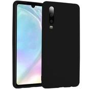 ShieldCase® Silicone case Huawei P30 (zwart)