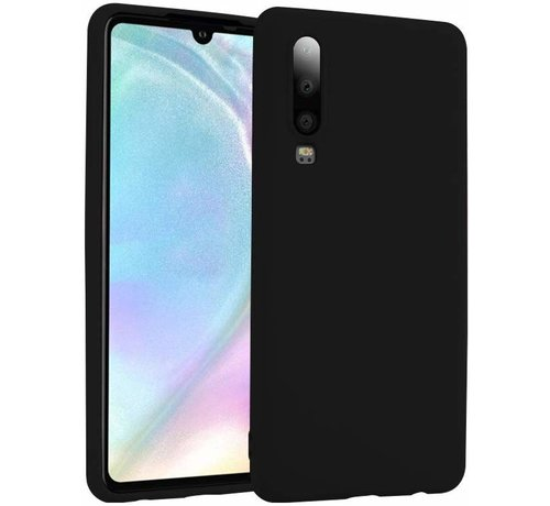 ShieldCase® Shieldcase Silicone case Huawei P30 (zwart)