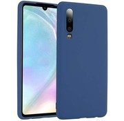ShieldCase Silicone case Huawei P30 (blauw)