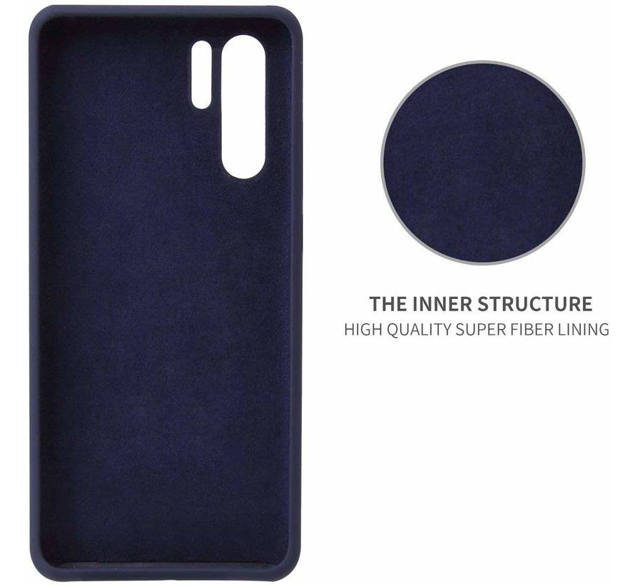 Shieldcase Silicone case Huawei P30 Pro (blauw)