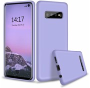 ShieldCase® Silicone case Samsung Galaxy S10 (paars)