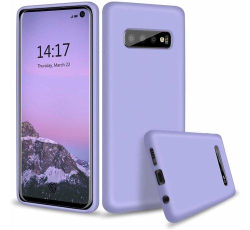 ShieldCase Shieldcase Silicone case Samsung Galaxy S10 (paars)